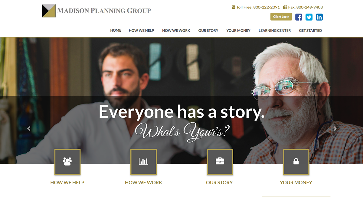 Madison Planning Group Portfolio